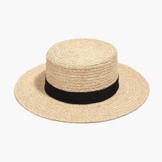 J.Crew Straw bolero hat