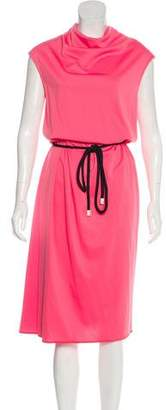 Marc Jacobs Belted Midi Dress w/ Tags