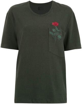 OSKLEN Eco Rose embroidered blouse
