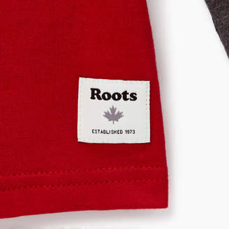 Roots Boys Colourblock Pocket T-Shirt