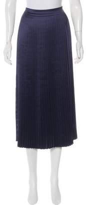 Elizabeth and James Pleated Midi Skirt