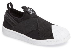 Women's Adidas Superstar Slip-On Sneaker $74.95 thestylecure.com