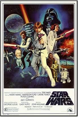 Art.com Star Wars Episode IV New Hope Movie Framed Wall Art