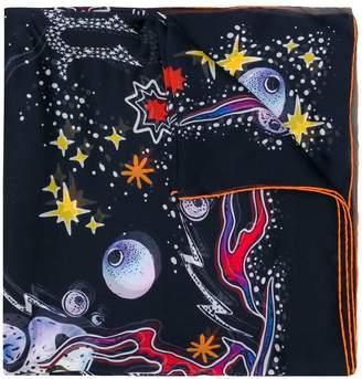 Givenchy sheer print scarf