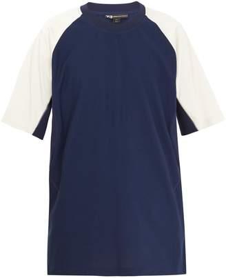 Y-3 Graphic-print cotton T-shirt