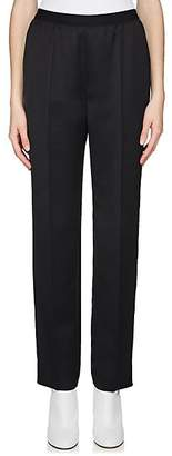 Maison Margiela Women's Satin Wool Trousers - Black