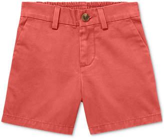 Polo Ralph Lauren Baby Boys Flat-Front Cotton Shorts