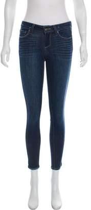 Paige Denim Low-Rise Jeans