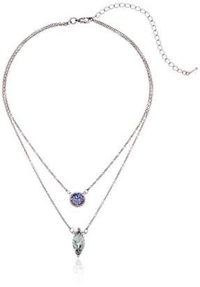 Sorrelli Lotus Dyad Pendant Necklace