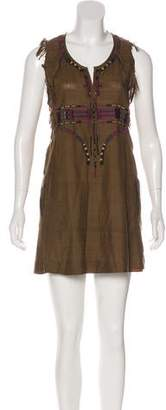 Isabel Marant Silk Embroidered Dress
