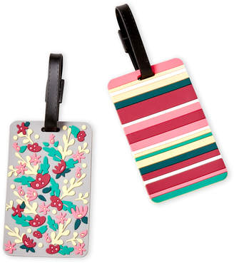 Travelon Set of 2 Floral Luggage Tags