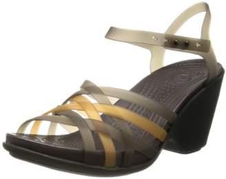 Crocs Womens Women's Huarache SW Wedge Sandal