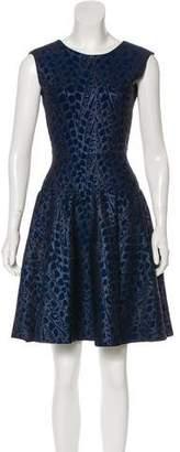 Issa A-Line Knee-Length Dress