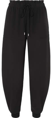 Chloé Satin-jersey Track Pants - Black