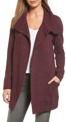 Women's Caslon Convertible Collar Sweater Coat $99 thestylecure.com