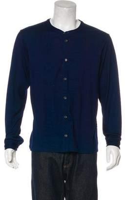 Rag & Bone Button-Up Knit Shirt