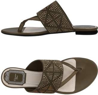 Christian Dior Toe strap sandals - Item 11433892