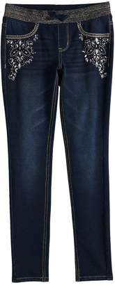 Star Wars So Girls 7-16 & Plus Size SO Ribbed Waist Jeggings