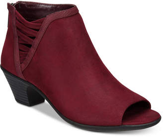 Easy Street Shoes Paris Peep-Toe Booties