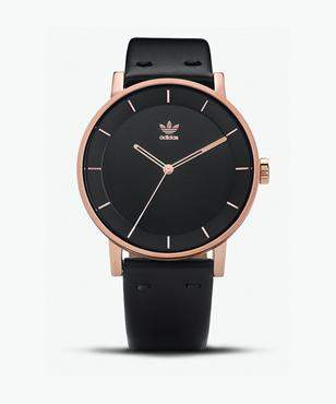 adidas District L1 All Rose Gold Legend Ink Watch