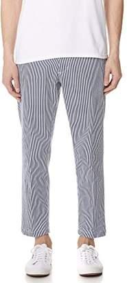 Obey Men's Straggler Stripe Flooded Pant