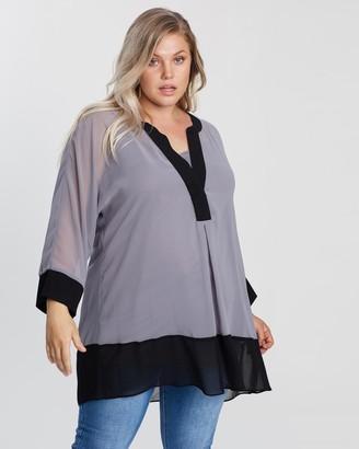 Evans Colour-Blocked Shirt