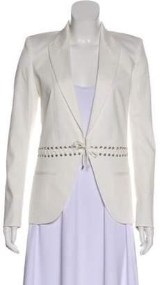 Barbara Bui Structured Open Front Blazer