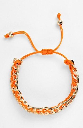 Tasha Cord & Link Friendship Bracelet