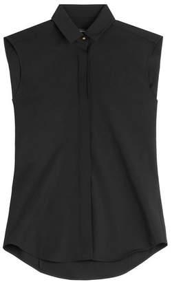Anthony Vaccarello Virgin Wool Sleeveless Shirt