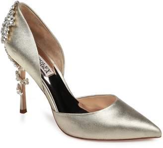 Badgley Mischka Vogue Crystal Embellished d'Orsay Pump