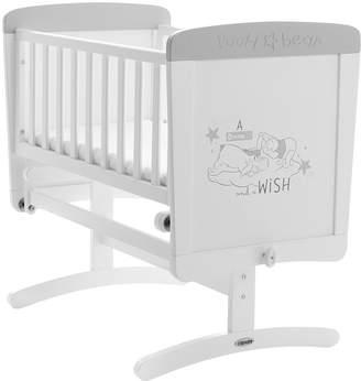 O Baby Obaby Winnie The Pooh Gliding Crib - Dreams & Wishes