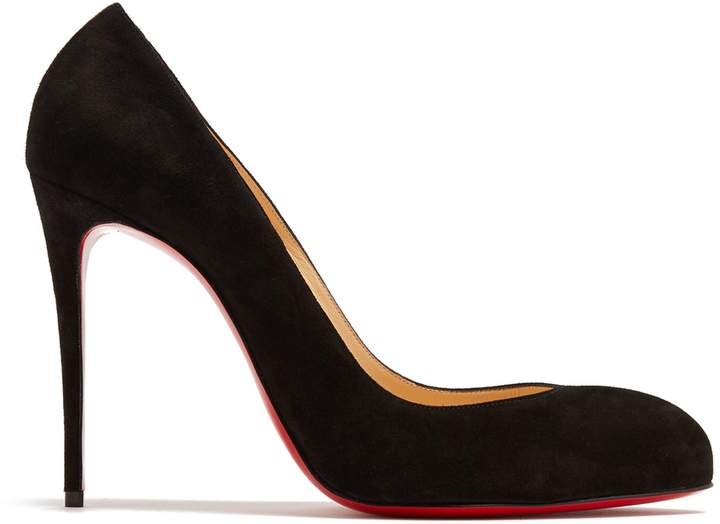 Christian Louboutin  CHRISTIAN LOUBOUTIN Breche 100mm suede pumps