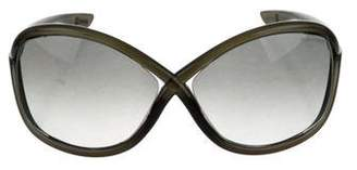 Tom Ford Whitney Oversize Sunglasses