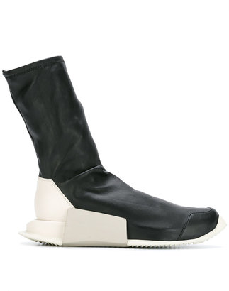 Rick Owens x Adidas sock sneakers $909.56 thestylecure.com