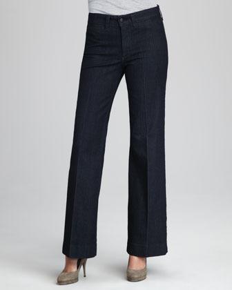NYDJ Greta Wide-Leg Trousers, Petite