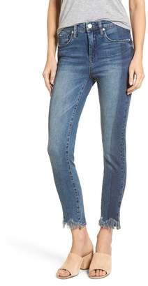 Blank NYC BLANKNYC Cry Baby Raw Hem High Waist Skinny Jeans