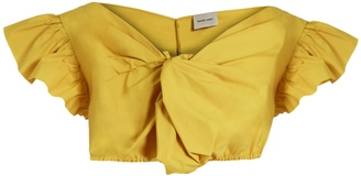 RACHEL COMEY Crush cotton-poplin cropped top $253 thestylecure.com