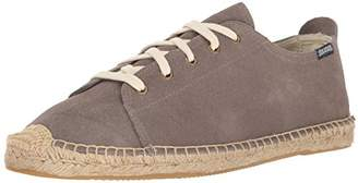 Soludos Men's Suede Lace up Sneaker Sandal