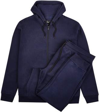 Mens Big & Tall Navy Zip Through Hoodie and Joggers Multipack