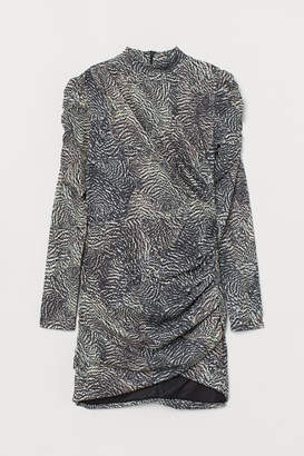 H&M Draped Dress - Beige