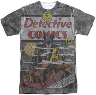 3.1 Phillip Lim DC Comics Detective Retro Cover Batman vs Vampire Adult Front Print T-Shirt