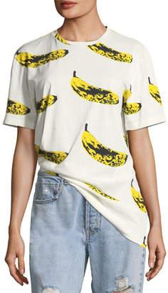 Libertine Crewneck Velvet Banana T-Shirt