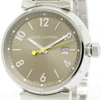 Louis Vuitton Tambour Q1112 Stainless Steel Quartz 39mm Mens Watch