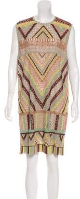 Valentino Native Couture 1975 Beaded Dress