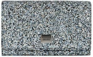 Jimmy Choo Lizzie Glitter Chain Clutch Bag