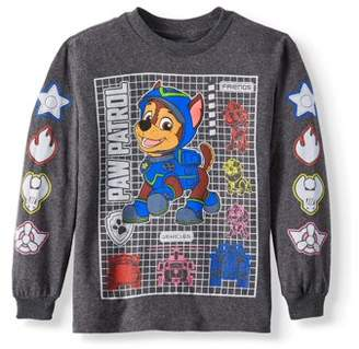 Nickelodeon Long Sleeve Paw Patrol Graphic Tee (Little Boys)