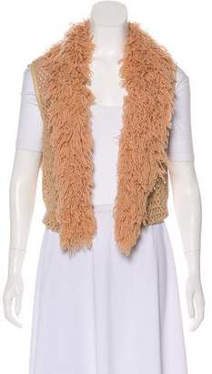 Opening Ceremony Rodarte x Knitted Open-Faced Vest