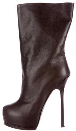 Saint LaurentYves Saint Laurent Tribtoo 105 Mid-Calf Boots