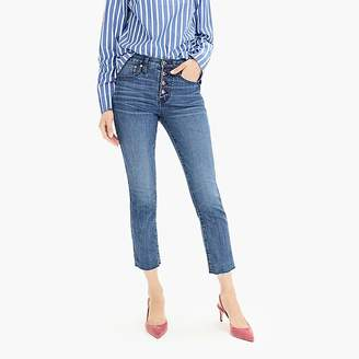 J.Crew Petite vintage straight eco jean with button fly