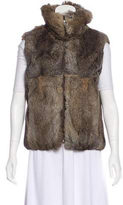 Burberry Reversible Fur Vest